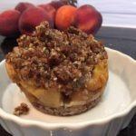 peach pie Heide 150x150 - Summer Peach Cobbler! Eat it guilt-free!