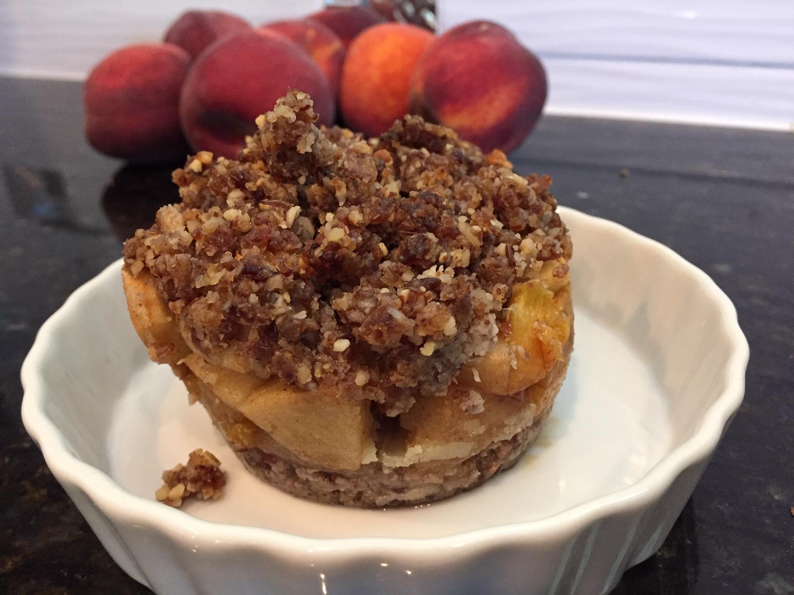peach pie Heide - Summer Peach Cobbler! Eat it guilt-free!