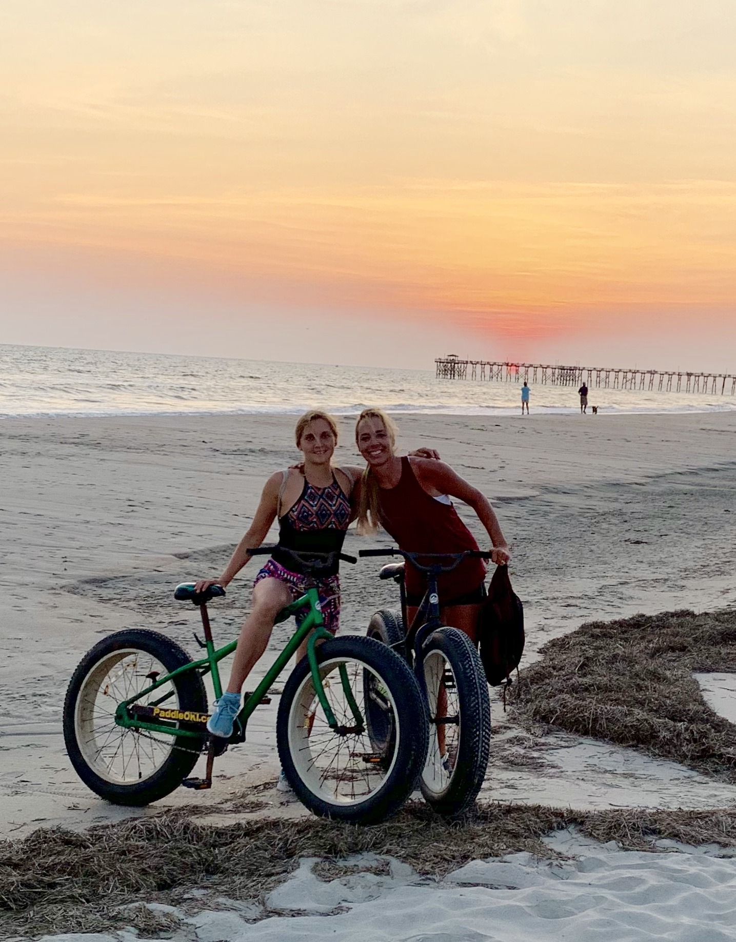 Bike on the Beach - Activity is not Exercise